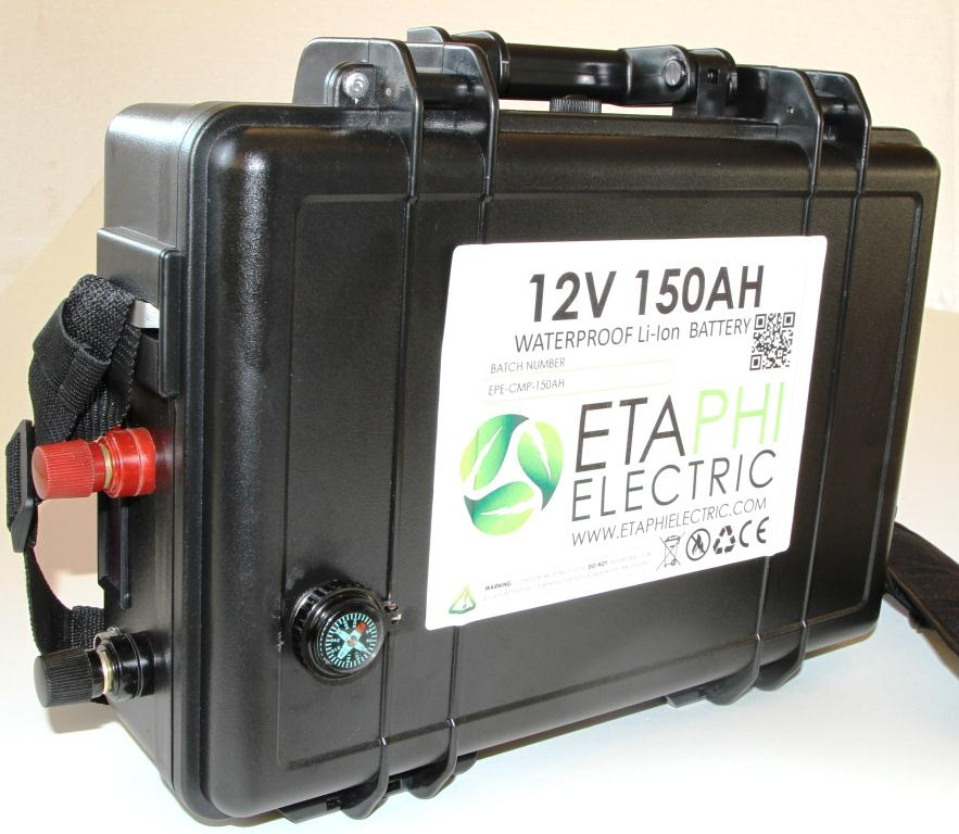 Waterproof 12v 150ah Lithium Battery Pack Etaphi Electric